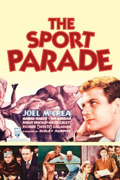 Poster for the movie The Sport Parade