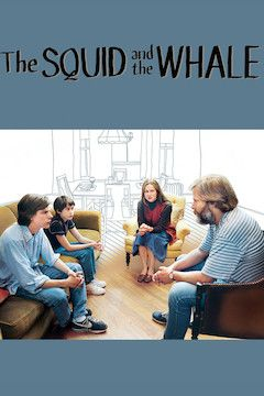 The Squid and the Whale movie poster.