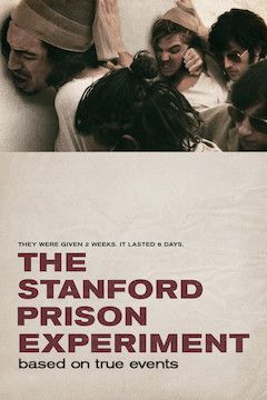 The Stanford Prison Experiment movie poster.