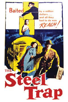 The Steel Trap movie poster.