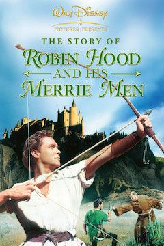 The Story of Robin Hood and His Merrie Men movie poster.