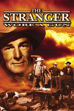 The Stranger Wore a Gun movie poster.