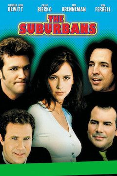 Poster for the movie The Suburbans