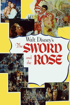 The Sword and the Rose movie poster.
