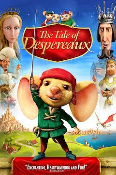 The Tale of Despereaux movie poster.