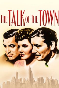 The Talk of the Town movie poster.