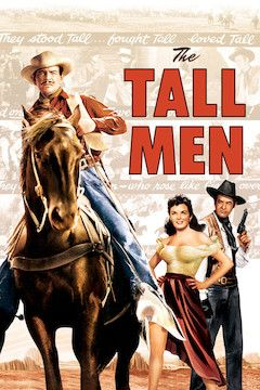 The Tall Men movie poster.