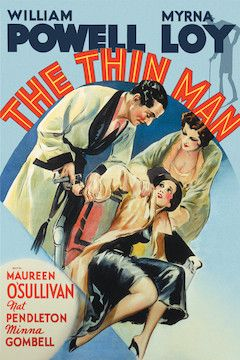 The Thin Man movie poster.
