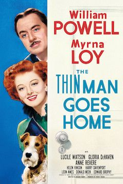 Poster for the movie The Thin Man Goes Home