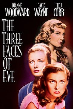 Poster for the movie The Three Faces of Eve