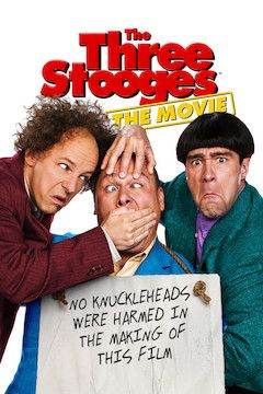 The Three Stooges movie poster.