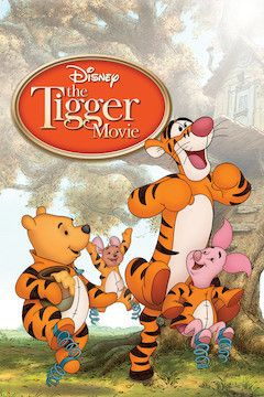 Poster for the movie The Tigger Movie