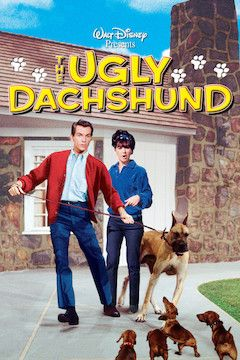 The Ugly Dachshund movie poster.