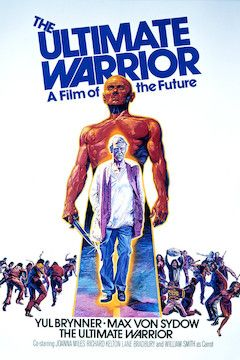 The Ultimate Warrior movie poster.
