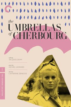 The Umbrellas of Cherbourg movie poster.