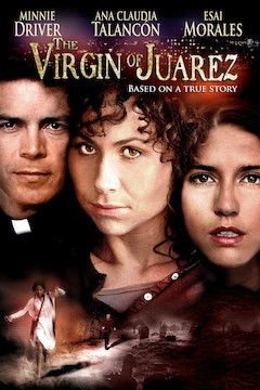 The Virgin of Juarez movie poster.