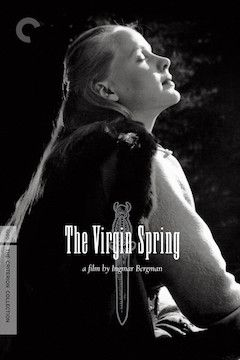 The Virgin Spring movie poster.