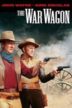 The War Wagon movie poster.