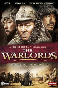 The Warlords movie poster.