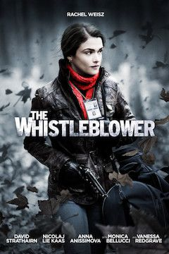 The Whistleblower movie poster.