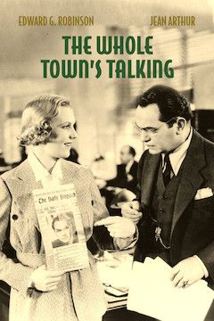 The Whole Town's Talking movie poster.