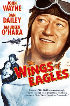 The Wings of Eagles movie poster.