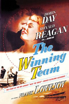 The Winning Team movie poster.
