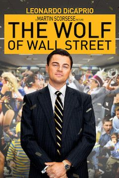 The Wolf of Wall Street movie poster.