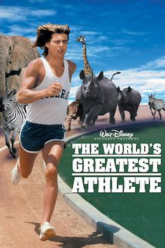 The World's Greatest Athlete movie poster.