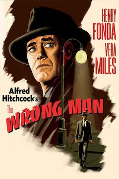 Poster for the movie The Wrong Man