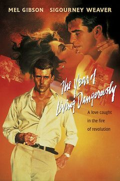 The Year of Living Dangerously movie poster.
