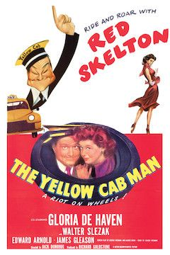 The Yellow Cab Man movie poster.