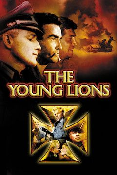 The Young Lions movie poster.