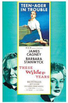 These Wilder Years movie poster.