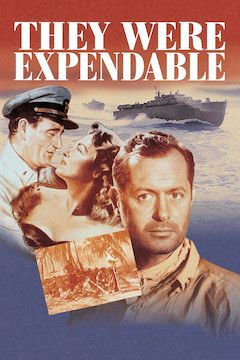 They Were Expendable movie poster.