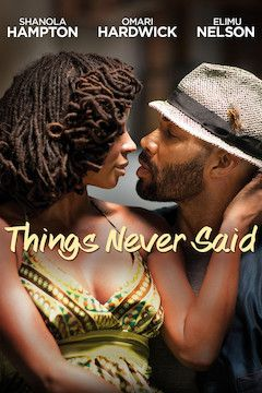 Things Never Said movie poster.