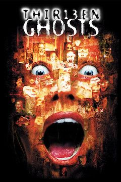 Poster for the movie Thirteen Ghosts