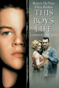 This Boy's Life movie poster.