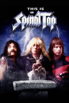 This Is Spinal Tap movie poster.