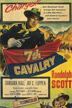 7th Cavalry movie poster.