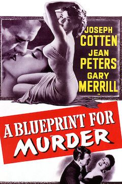 A Blueprint for Murder movie poster.