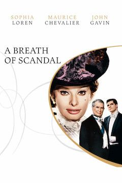 A Breath of Scandal movie poster.