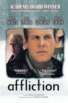 Affliction movie poster.