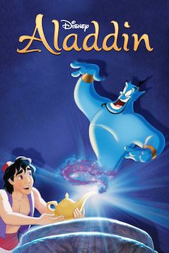 Aladdin movie poster.