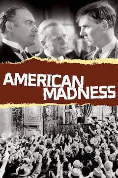 American Madness movie poster.
