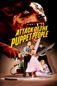 Attack of the Puppet People movie poster.