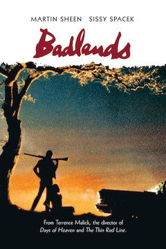 Badlands movie poster.