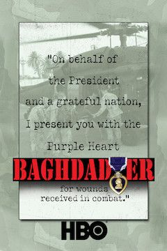 Poster for the movie Baghdad ER