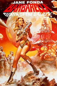 Barbarella movie poster.