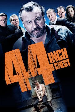 Poster for the movie 44 Inch Chest